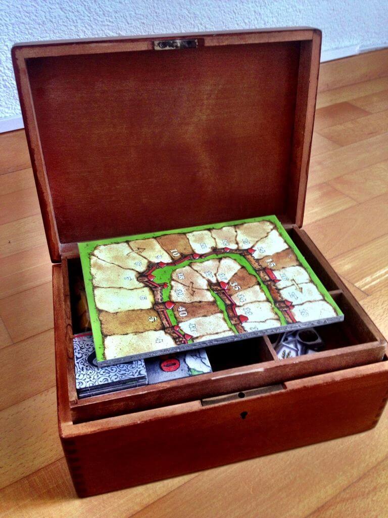 DIY Carcassonne Box