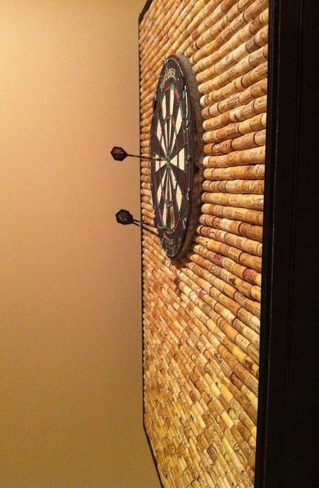 DIY Dart Board from Macgyverisms