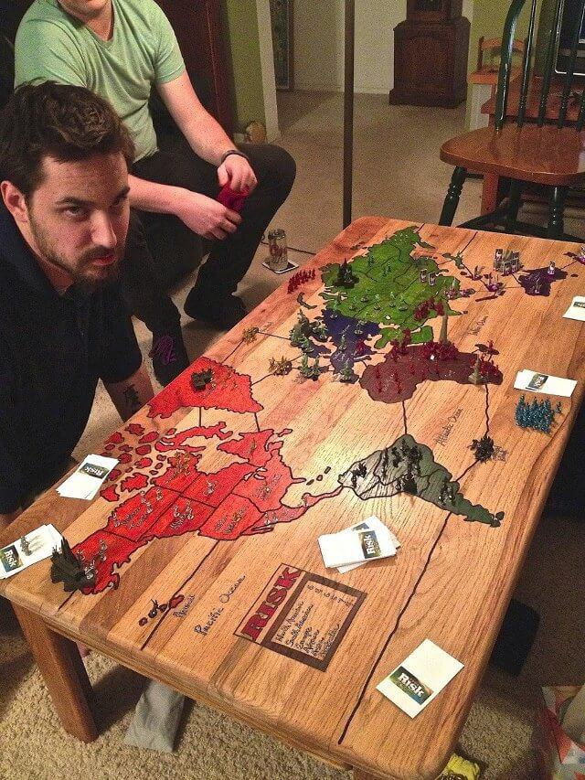 Risk Coffee Table