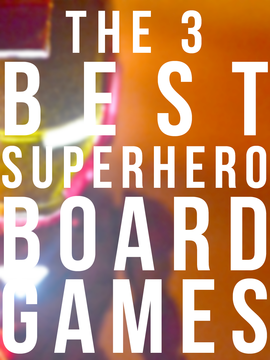 Need to get a gift for someone who loves superheroes? Here are THE BEST superhero board games!