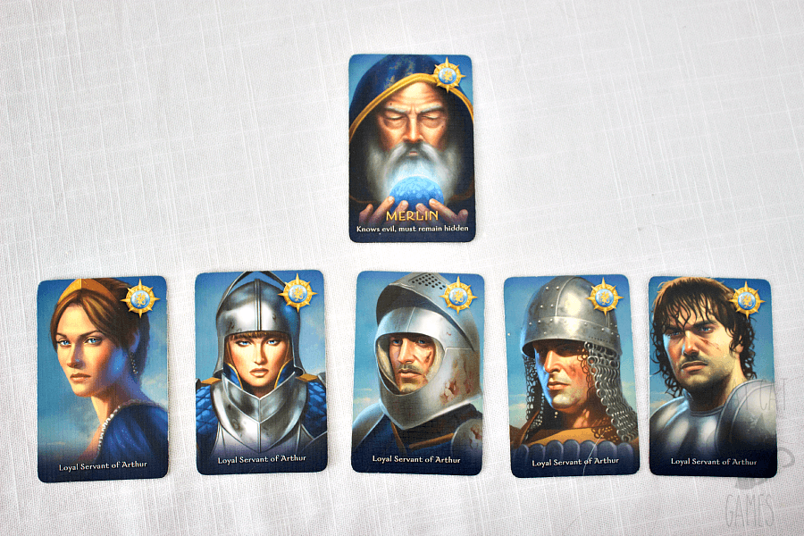 "The Resistance: Avalon --- Avalon is a traitor game very similar to the arguably more popular game ""The Resistance."" While it's mostly a reskin, the change in theme and the addition of a few key roles helps Avalon stand out in my mind. 
