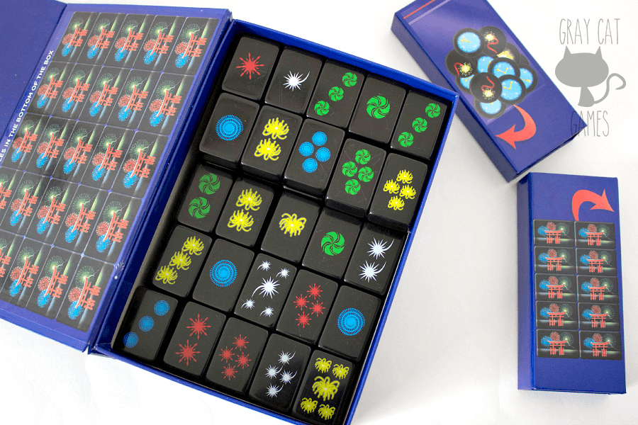 Hanabi Deluxe is a surprisingly fun and beautiful cooperative game for 2-5 players. Your hand of cards is hidden only to you, and it's up to the other players to give you the right information to help you find out what you have. Hanabi is a fast, fun game that plays well with a variety of players! || via graycatgames.com