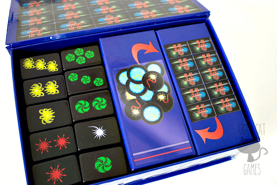 Hanabi Deluxe is a surprisingly fun and beautiful cooperative game for 2-5 players. Your hand of cards is hidden only to you, and it's up to the other players to give you the right information to help you find out what you have. Hanabi is a fast, fun game that plays well with a variety of players!    via graycatgames.com