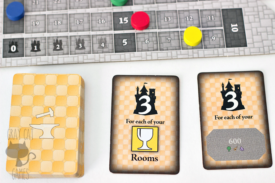 Castles of Mad King Ludwig is a tile-laying game that requires you to think ahead and outmaneuver your opponents. It combines a lot of different mechanics into a very enjoyable game for two to four players.