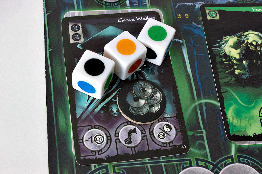 Ghost Stories is an Antoine Bauza-designed cooperative game with his signature difficulty curve. This game drips with menace and danger, and it will take the efforts of all the players to win on even the easiest setting.