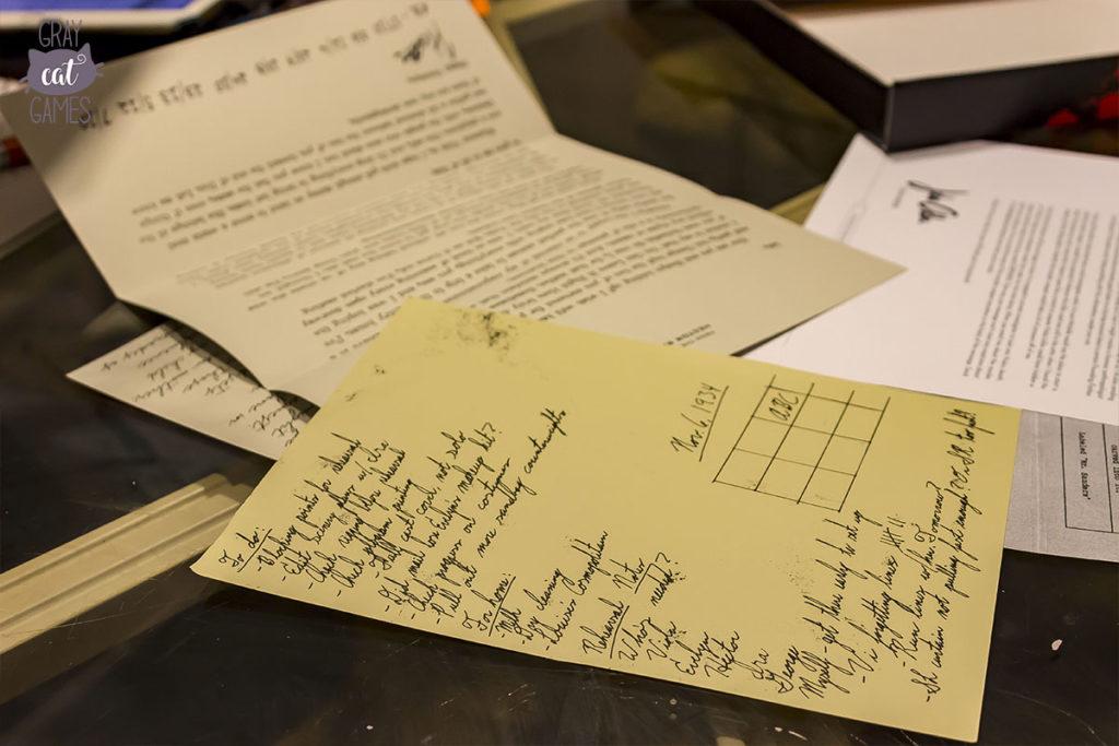 Hunt a Killer Notes