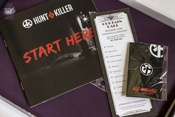 Hunt a Killer Box Opened